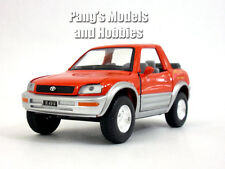 Toyota RAV4 Cabriolet 1/32 Scale Diecast Metal Model by Kinsmart - RED