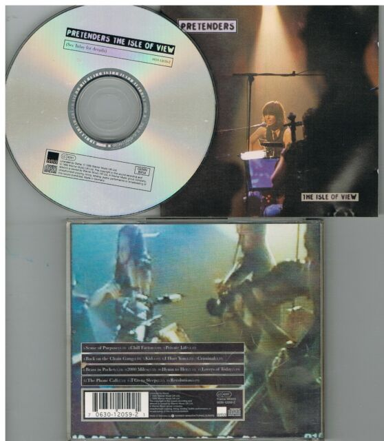 Pretenders ‎– The Isle Of View CD Album 1995