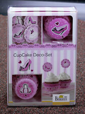 Deko Set Cupcake Papier Cake In The City (Mode) 36 tlg. von RBV Birkmann