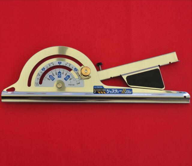 Japanese SHINWA free angle circular saw guide rail ruler 230mm 78176 like 77878