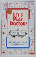 LET'S PLAY DOCTOR  Dr. Joel Wallach- Dead Doctors Don't Lie with FREE Health CD
