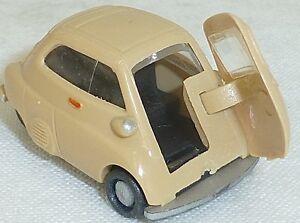 Isetta-BMW-Beige-Mesureur-EUROMODELL-h0-1-87-OVP-ho-1-a