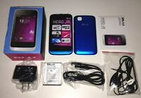Brand Blu Hero Jr S250 Blue Unlocked Smartphone Dual Sim Easy To Use