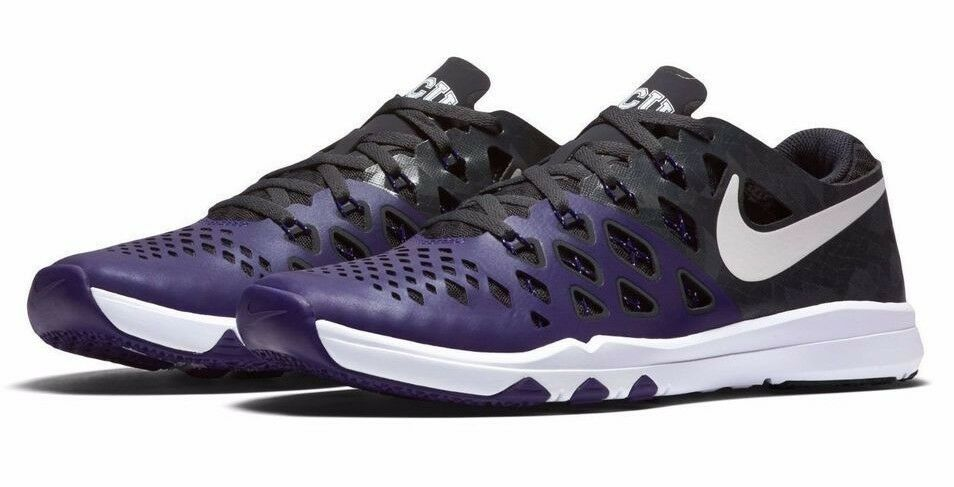 NIB - NIKE Men's 'TRAIN SPEED 4 AMP - TCU NCAA' 844102-510 SHOES - 11 / 45