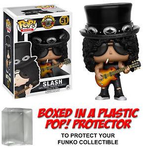 Funko-POP-Rocks-SLASH-VINYL-FIGURE-w-Protector-Case-Rock-Stars