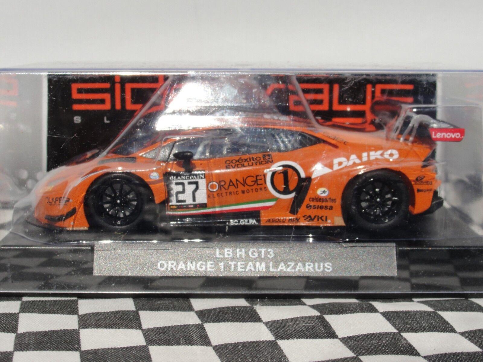 SIDEWAYS RACER LAMBORGHINI  HURACAN orange 1 TEAM LAZARUS'  SWCAR01D 1 32 BNIB