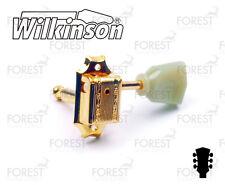 Wilkinson® WJ-44 deluxe machine heads Gibson® vintage kluson style guitar, gold