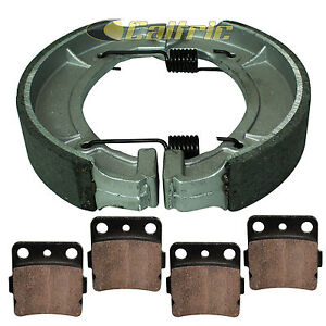 Front Rear Brakes Brake Pads For Yamaha YFM 600 YFM600 Grizzly Hunting 2000 2001