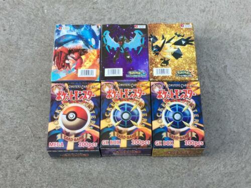 New Pokemon TCG 300 FLASH CARD LOT RARE 195GX+80EX+25MEGA CARDS NO REPEA Hot