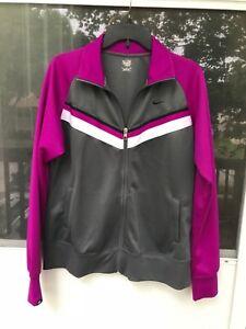 Cena fabryczna o rozsądnej cenie gorąca sprzedaż online Details about Nike Athletic Dept Women's Full Zip Running Tennis Track  Jacket Top Size XL