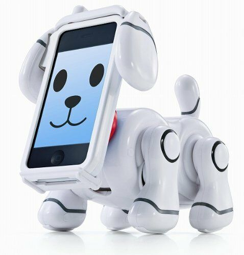 Bandai Smartpet Robot Perro (blancoo)
