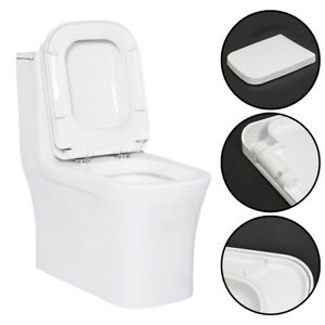 square toilet seat uk. Image Is Loading Square White Soft Close Toilet Seat Top Fixing  Quick Release Hinge