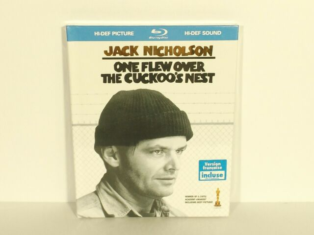 One Flew Over the Cuckoo's Nest DigiBook (Blu-ray Disc, 2008, Canadian) NEW