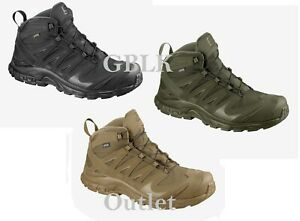 Details about Salomon XA Forces Mid GTX Boot Lightweight Special Ops Boots GORE TEX