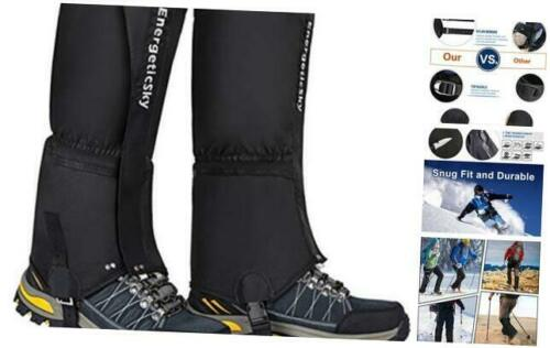 Leg Gaiters Waterproof Snow Boot Gaiters for Men and Women,Gaiters for X-Large