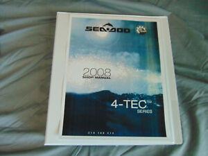 2008 Sea Doo sea-doo Jet Ski  4TEC 4-TEC Watercraft Repair Service Shop Manual