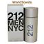 thumbnail 1 - Sealed Gift Carolina Herrera 212 NYC Men's Perfume Fragrance EDT 3.4oz/100ml