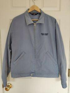 Vintage-Polo-Sport-Ralph-Lauren-Denim-Jean-Jacket-Mens-Size-Large-Zip-Up