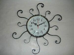 Horloge-murale-a-quartz-fer-forge-RAYONS