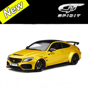 GT-Spirit-1-18-Mercedes-Benz-C63-AMG-COUPE-PRIOR-DESIGN-PD65CC-Car-Model-NEW