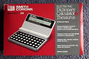 Details about Vintage SMITH CORONA SPELL-RIGHT ,TM 300P, NEW,