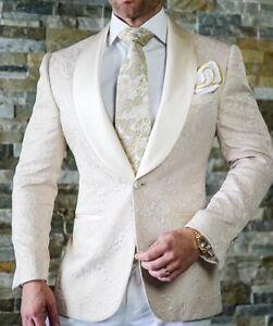 Wedding-Men-Suits-Jacquard-Groomsmen-Tuxedos-Party-Prom-Dinner-Blazer-Customize