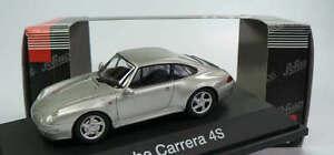 Rare Schuco Porsche 911 993 C4 Large Corps Argent Métallisé 1:43 Etat neuf 1/1000
