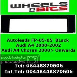 WNB-FP-05-04-AUDI-A4-Chorus-Black-Fascia-Facia-Adaptor-Panel-Surround