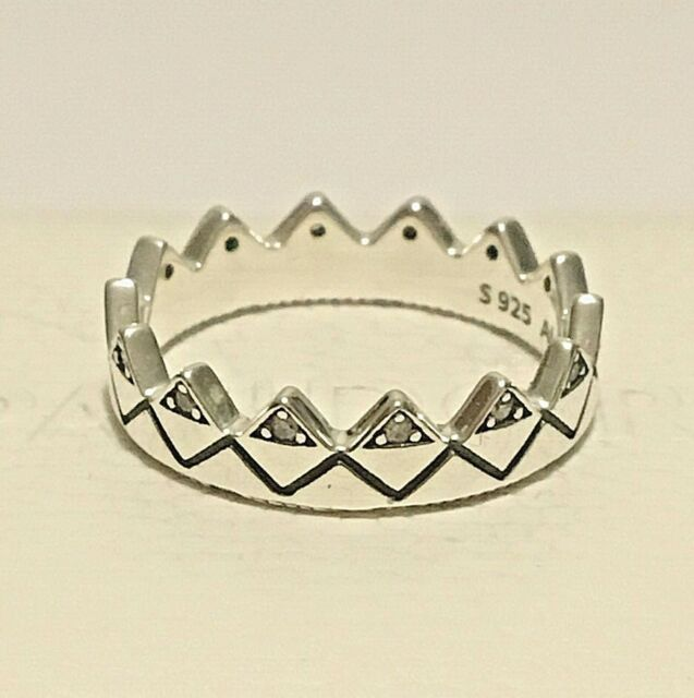pandora anello corona argento