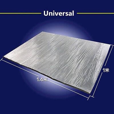 1 x1.4m Heat Shield Mat Turbo Exhaust Muffler Insulation Hood Fiberglass Cotton