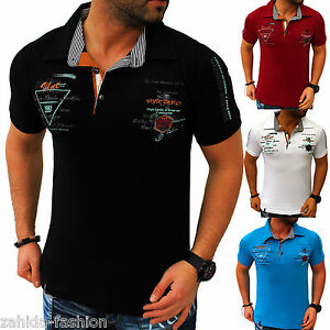 Men-039-s-T-Shirt-Summer-Top-Quality-Polo-Party-Clubwear-M-L-XL-XXL-T-4-3