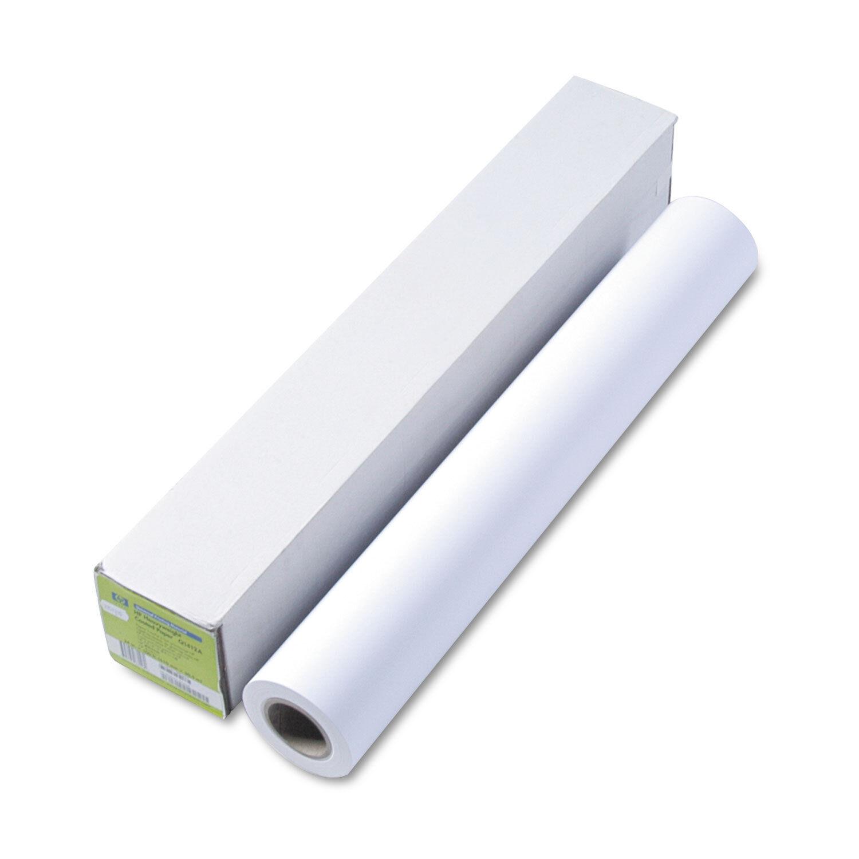 HP Designjet Universal Heavyweight Paper 6.1 mil 24  x 100 ft White Q1412B