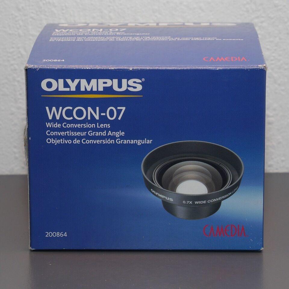 Vidvinkelforsats, Olympus, WCON-07