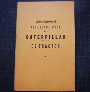 Details about CAT Caterpillar D7 Tractor Dozer Crawler Service Manual  Repair overhaul shop oem