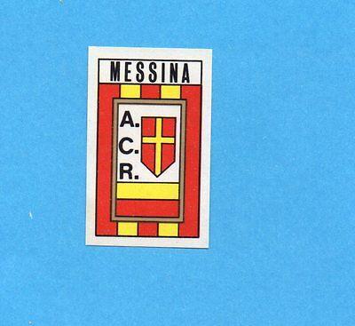 SCUDETTO -Rec Figurina-Sticker CALCIATORI PANINI 1970-71 MESSINA
