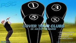DRIVER-NEW-GOLF-CLUB-HEAD-COVERS-BLACK-FULL-COMPLETE-1-3-5-X-WOOD-HEADCOVER-SET