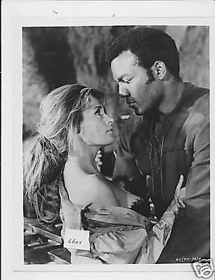 Jim Brown Dating >> Mariana Hill Busty Vintage Photo Jim Brown El Condor Ebay