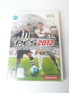 Pro-Evolution-Soccer-PES-2012-Wii-Game-Complete-w-Disc-Manual-amp-Case-Tested