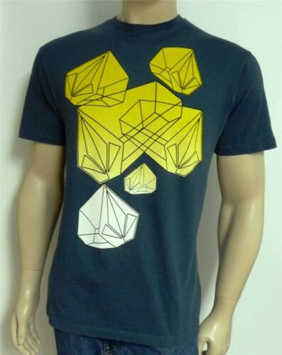 Volcom Stone Prism Graphic Tee Mens Blue T-Shirt New NWT