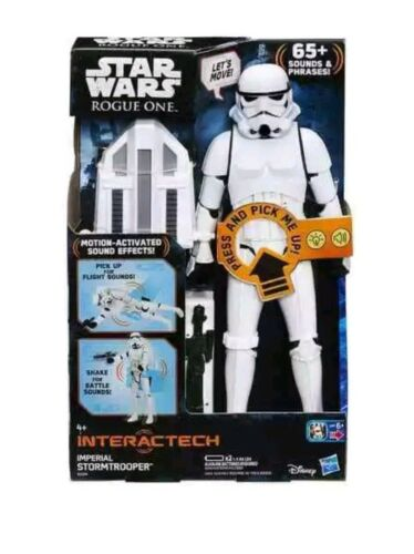 """Star Wars Rogue One 12/"""" interactech IMPERIAL STORMTROOPER figure new"""