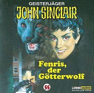 JOHN-SINCLAIR-FOLGE-55-FENRIS-DER-GOTTERWOLF-CD-NEW
