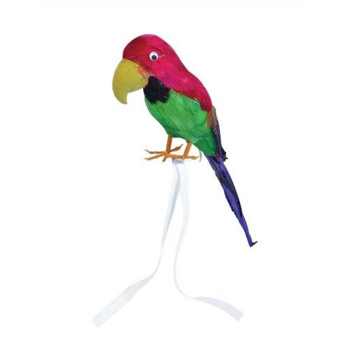 """Fancy Dress Pirate Accessory 15 Costume 15/"""" Feather Parrot Decoration"""