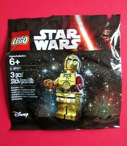 LEGO STAR WARS RED ARMED C-3PO POLYBAG 5002948 NEW AND SEALED