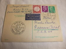 alte DDR Postkarte Briefmarke FDC ETB Ganzsache Sonderstempel Franz List 1961