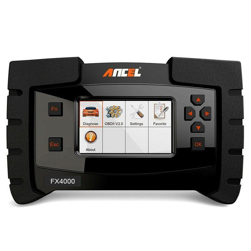 ANCEL FX4000 OBD2 Full System Auto Diagnostic Scanner Engine Transmission ABS SRS EPB ESP SAS R5499