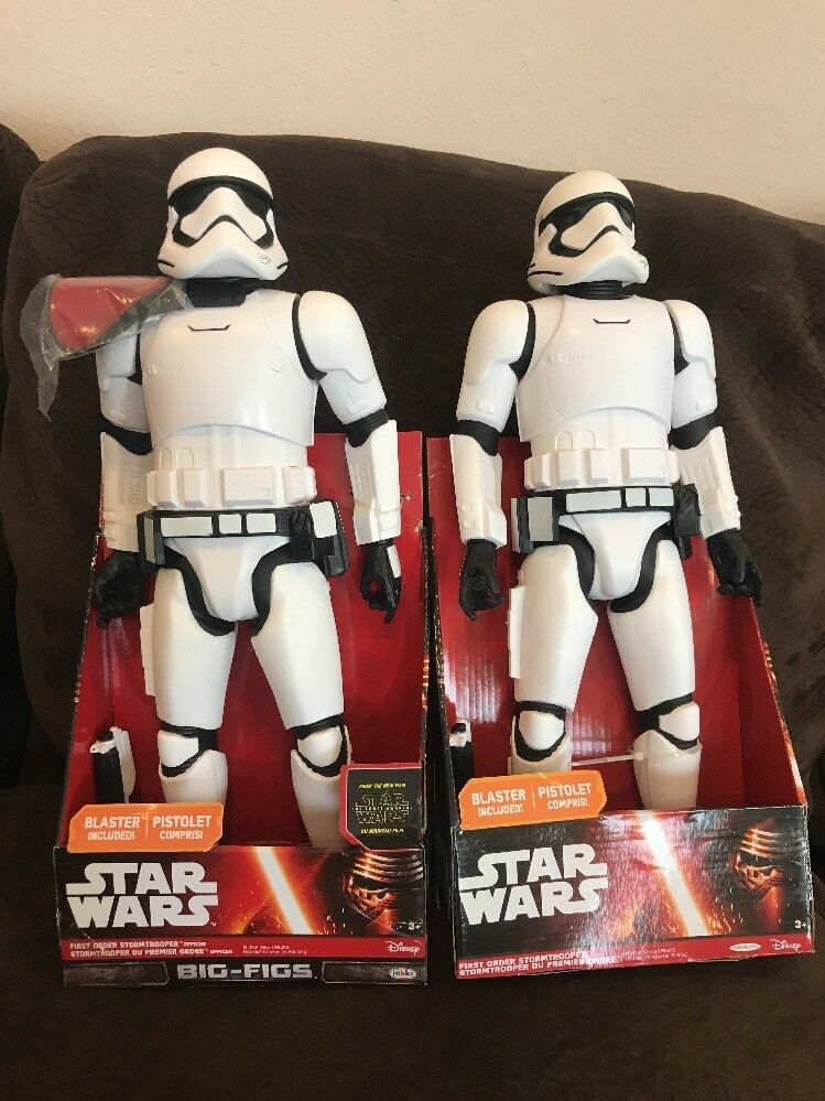 Star Wars Force Awakens Big-Figs First Order Stormtrooper & Officer Red Pauldron