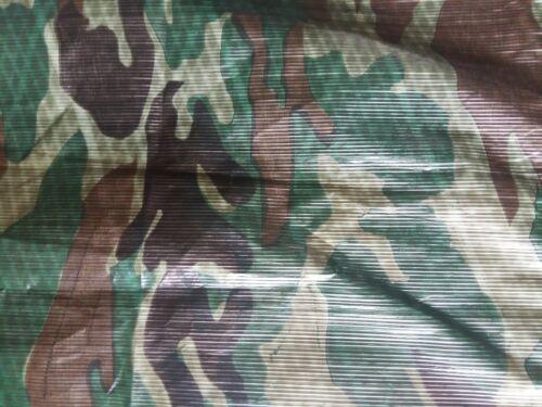 4.5 m x 6 m Camouflage d/'hiver XT Bâche Heavy Duty Ground Feuille Résistante