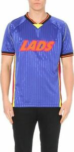 HOUSE-of-HOLLAND-039-LADS-039-FOOTBALL-TEAM-WORLD-CUP-team-PLAYER-SPORTS-SHIRT-XL