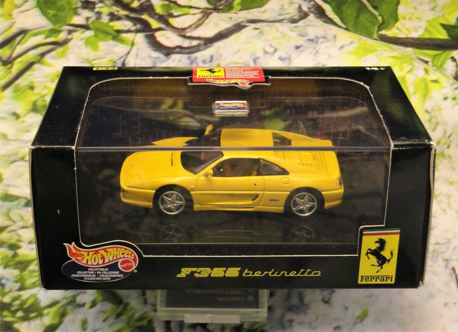Ferrari  f355 berlinetta gelb 1   Ferrari 43 hot wheels 5784fb