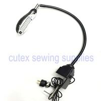 Sewing Machine 50-bulb Led Working Light Lamp With Dimmer Switch & Table Clamp